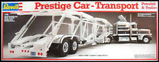 BNIB Revell Peterbilt Truck and Auto Transporter Trailer Model Kit 1:25 scale