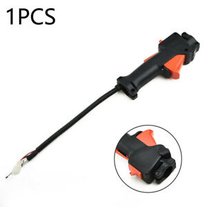Throttle Cable Handle Trigger On Off Switch For Multi-Tool Strimmer Brushcutter
