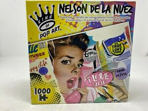 NEW 1000 Piece Puzzle Nelson De La Nuez Sweet Happy Life