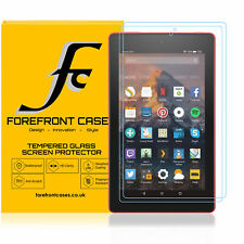 Amazon Fire 7 2017 Screen Protector, Tempered Glass for Fire 7 2017 | 2 Pack