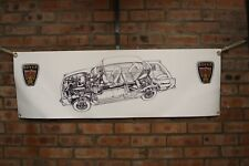 rover P6 3500 3500S pvc large WORK SHOP BANNER garage car show banner