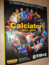 ALBUM VUOTO CALCIATORI PANINI 2014-2015 NUOVO DA EDICOLA INCLUSE 6 FIGURINE