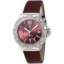 d61631f06bc Tag Heuer Formula 1 Burgundy Dial Diamond Ladies Watch Item No.  Wah121b.fc6223
