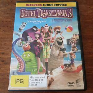 Hotel Transylvania 3 DVD R4 Like New! FREE POST Monster Vacation
