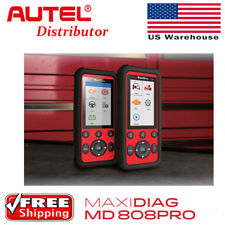 New Autel Maxidiag Md808pro Diagnostic Scannerservice Pro Better Md802