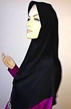 Écharpes et châles hijab noir pour femme