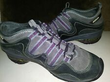 Jambu Nepal Gray Leather All Terra Design/Traction Athletic Shoes Women's 6.5 M