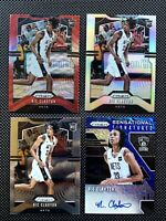 Lot of (4) Nic Claxton 2019-20 Panini Prizm Silver Ruby Wave - Blue Shimmer Auto