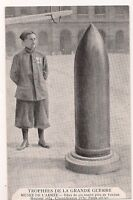 trophées de la grande guerre musée de l'armée  obus de 420 tombé près de verdun