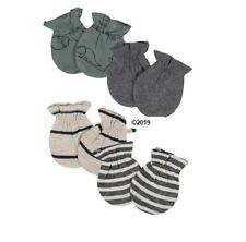 Gerber Baby Boy 4-Pack Organic Dinosaur Mittens Size 0-3M