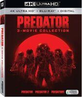 Predator: 3-Movie Collection [New 4K UHD Blu-ray] 4K Mastering, Subtit