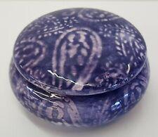 Scatola in Ceramica Rotonda ETRO Home 9 x 5 P