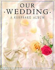 6x (Job lot) Our Wedding: A Keepsake Album (Gift Albums) Hardcover
