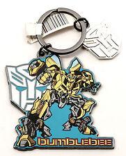 NEW Universal Studios Transformers Bumblebee Autobot Metal Keychain / Key Ring