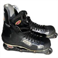 Bauer H1 Mens Roller Hockey Inline Skates Size 12 D NHL Off Ice Light Chassis
