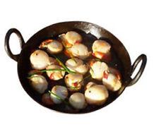 Indian Flat Iron Jalebi Kadai Skillet Iron Wok with Handles For Cooking| Frying