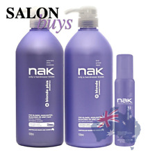 NAK Hair Blonde Plus Shampoo 1 Litre From Celcius Skin & Beauty