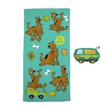 Scoob! Scooby-Doo 2-Piece Summer Towel and Character Scrubby Set, Kids Bath Set