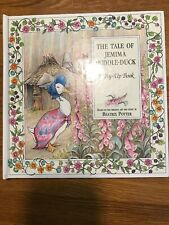 The Tale of Jemima Puddleduck Pop-up-book Potter, Beatrix Very Good Shape!