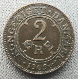 Denmark 2 öre  1909
