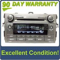 11 12 TOYOTA Corolla A518AH OEM Radio Stereo AUX MP3 WMA CD Player 86120-02D20