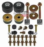 Radiator Support Mount Kit HQ HJ HX HZ WB Bush + Bolts + Bonnet Adjuster NEW