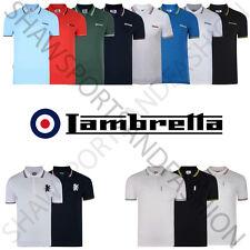 Lambretta polo shirt Classic Short Sleeve Polo Tee T Shirts Sizes S to 4XL