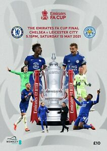 FA CUP FINAL PROGRAMME 2021 Chelsea v Leicester City