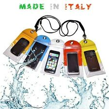 CUSTODIA SPLASH WATERPROOF SMARTPHONE IPHONE SAMSUNG SONY HTC NOKIA CON LACCETTO