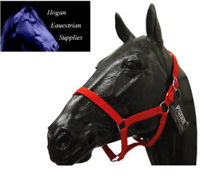 ProTack Nylon Headcollar various COLOURS and SIZES **clearence**