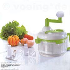 Universal Küchenmaschine Zwiebelschneider Eier trennen Gemüse schleudern hacken