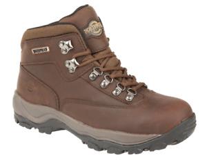 Women's New Northwest Territory Peak Leather Hiking Walking Trekking Boots 3 - 8