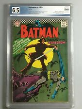 Batman 189 - PGX 6.5 - 1st Silver Age Scarecrow - Iconic Cover - KEY Book 🔑
