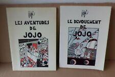 2 Tomes Les aventures de JOJO par Jijé 1937 réédition Chlorophylle