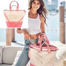 NWT Victoria's Secret 2018 Angel Beach Cooler 2-in-1 Tote Insulated Lunch Bag
