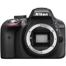 NEW BOXED NIKON D3300 DIGITAL CAMERA BODY BLACK
