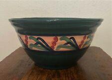 "GAIL PITTMAN Signed Pottery 1993 - Large Serving Mixing Bowl - Juniper - 11.5"""