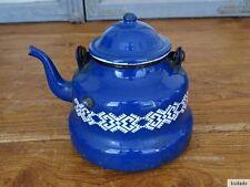 Nr.J8251 Email Teekännchen - EMAILLE - KANNE - Kaffeekännchen