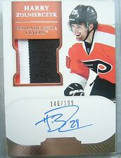 RC Harry Zolnierczyk 3clr Patch AUTO/199 Rookie 2011-12 PANINI Dominion PENGUINS