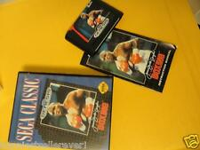 Evander Holyfield Boxing Sega Genesis Game Complete Video Game System