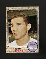 3518* 1968 Topps # 24 Bobby Locke NM