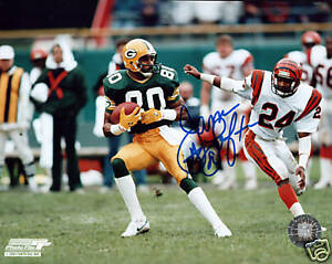 James Lofton signed autograph auto Green Bay Packers 8 x by 10 picture photo