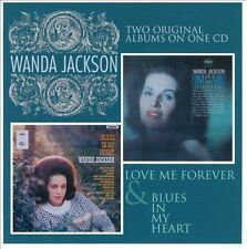 Love Me Forever/Blues in My Heart by Wanda Jackson (CD, Apr-2010, Cherry Red)