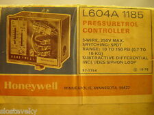 HONEYWELL L604A1185 PRESSURETROL CONTROLLER NEW