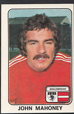Panini 1979 Football Sticker - No 255 - John Mahoney - Middlesbrough