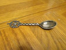 Small Norway silver plated spoon flatware vintage