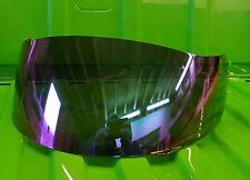 AGV iridium Miroir Visiere Shield Q3 GT TI-TECH X-VENT Airtech S4 Q3 Mirage Bolt
