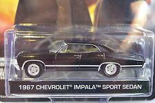 CHEVROLET IMPALA SEDAN 1967 SUPERNATURAL 44692 1:64 GREENLIGHT