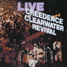 Creedence Clearwater Revival - Live In Europe 2x 180g vinyl LP NEW/SEALED