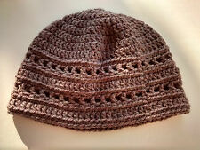 Women's 'Rosthwaite' hand crocheted beanie hat by Wooly Things
